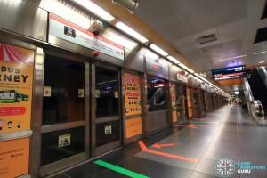 Newton MRT Station - NSL Platform A