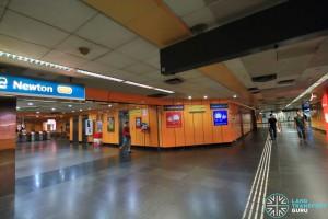 24-hour underpass between NSL / DTL faregates