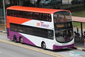 SBST Volvo B9TL (SBS3897K) - Service 5