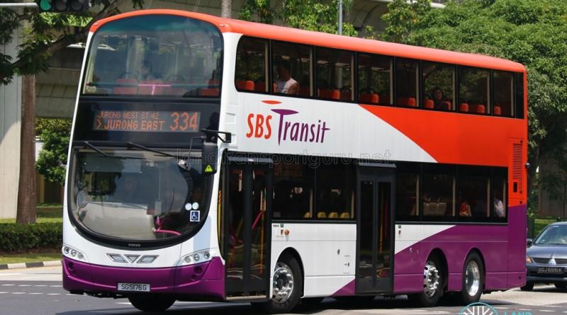 SBS Transit Volvo B9TL (SG5176E)