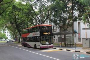 Service 21 calling at Jalan Tenteram