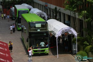 Overview of Concept Buses on Display