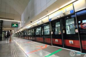 Bras Basah MRT Station - Platform A