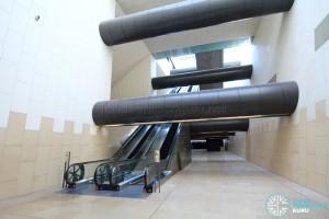 Transfer hall escalators (B4)