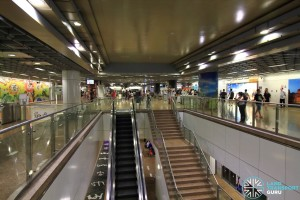 Chinatown MRT Station - NEL Concourse level (Unpaid area)