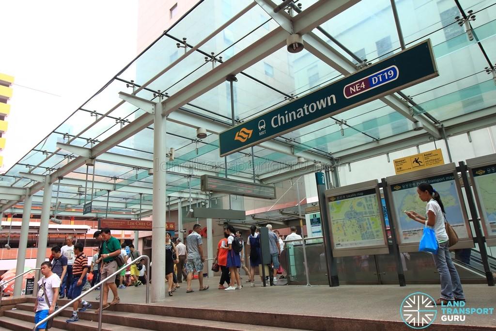 Chinatown Mrt Station Land Transport Guru