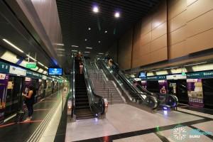 Beauty World MRT Station - Platform level