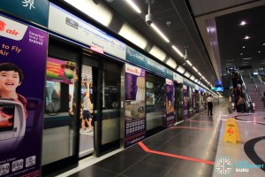 Beauty World MRT Station - Platform B
