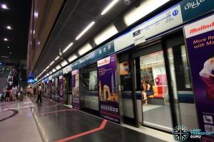 Beauty World MRT Station - Platform A