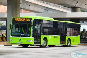 SG1001D on 945 - Tower Transit Mercedes-Benz Citaro