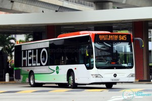 SG1002B on 945 - Tower Transit Mercedes-Benz Citaro