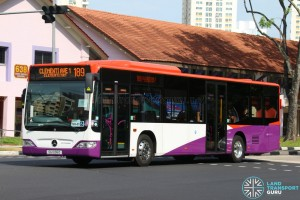 Tower Transit Mercedes-Benz Citaro (SG1036D) in SBST Base livery