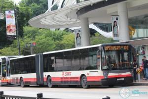 SMRT Buses Mercedes-Benz O405G (TIB1209S) - Service 106