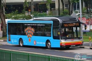 SMRT MAN A22 (SMB1419E) - Service 176