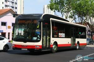 SMB3035R on 990 - Tower Transit MAN NL323F A22
