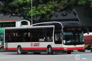 SMRT Buses MAN A22 (SMB3039E) - Service 106