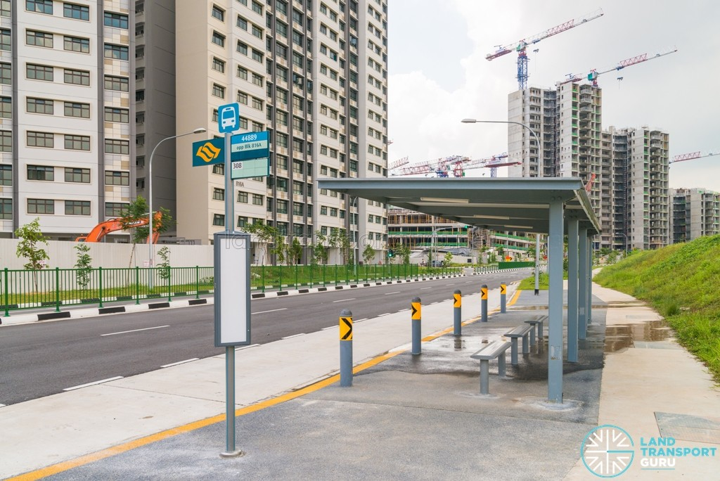 A bus stop along Keat Hong Link, opposite the Keat Hong Quad BTO flats. Residents will benefit from faster connections to Choa Chu Kang.