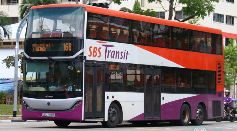SBS7888K on 168, Scania K310UD