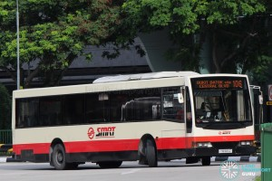 SMRT Buses Mercedes-Benz O405 (VOlgren) (TIB965Z) - Service 106