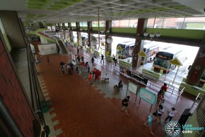 Bukit Batok Int prior to TTS operations