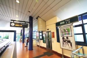 Fajar LRT Station - Platform 2
