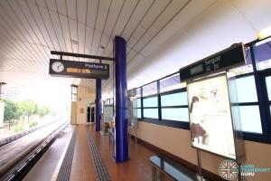 Segar LRT Station - Platform 2