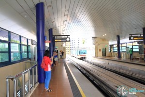 Segar LRT Station - Platform level