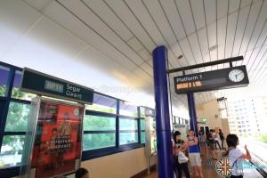 Segar LRT Station - Platform 1