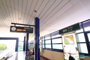 Senja LRT Station - Platform 2