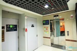 Ten Mile Junction LRT Station - L1 Lift access