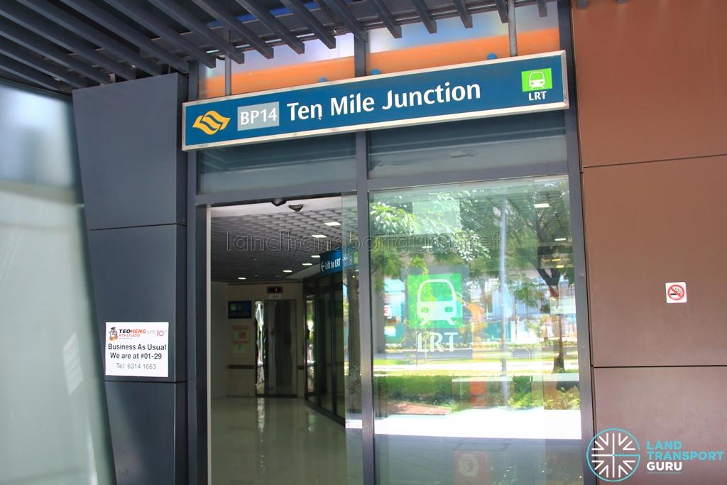 LRT Station Exit