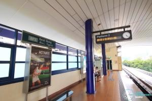 Keat Hong LRT Station - Platform 2