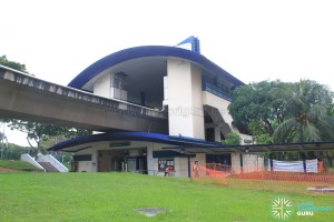 Teck Whye LRT Station - Exterior view