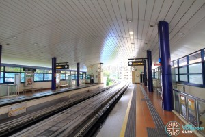 Phoenix LRT Station - Platform level