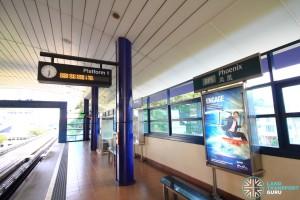 Phoenix LRT Station - Platform 1