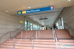 MacPherson MRT Station - Exit B