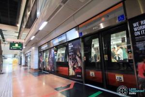 Tai Seng MRT Station - Platform A