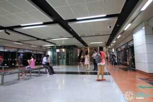 Tai Seng MRT Station - Platform level
