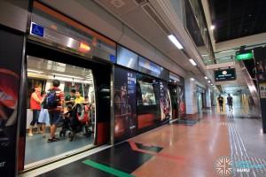 Tai Seng MRT Station - Platform B