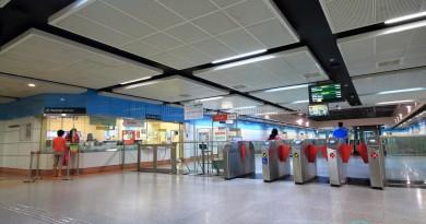 Tai Seng MRT Station - Passenger Service Centre & Faregates
