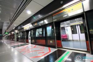 Caldecott MRT Station - Platform A