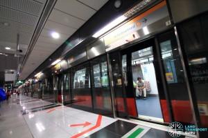 Farrer Road MRT Station - Platform A