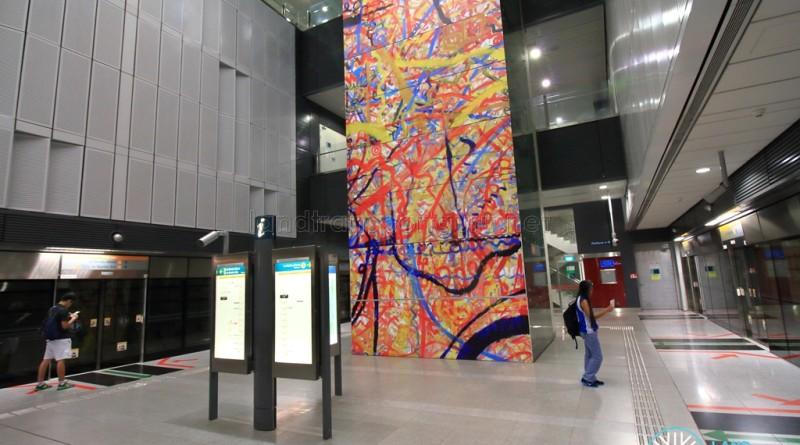 Farrer Road MRT Station - Platform level