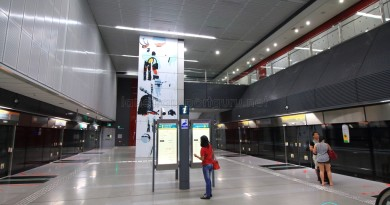 Holland Village MRT Station - Platform level