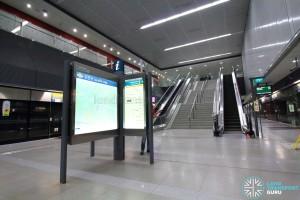 Holland Village MRT Station - Platform level