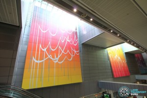 one-north MRT Station - Art in Transit