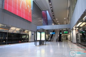 one-north MRT Station - Platform level