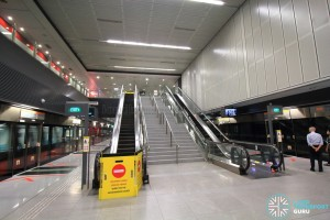 Haw Par Villa MRT Station - Platform level