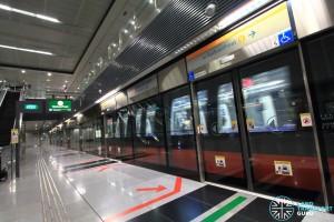 Telok Blangah MRT Station - Platform A