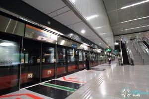 Telok Blangah MRT Station - Platform B